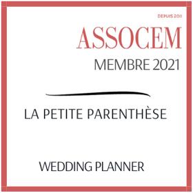 Membre ASSOCEM Wedding planner